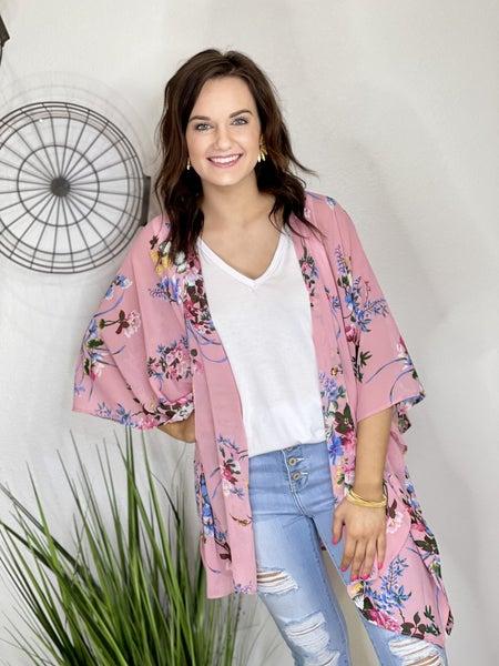 The Fresh Floral Kimono