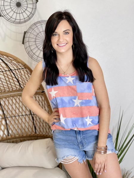 The Spangled Tank-All Sizes