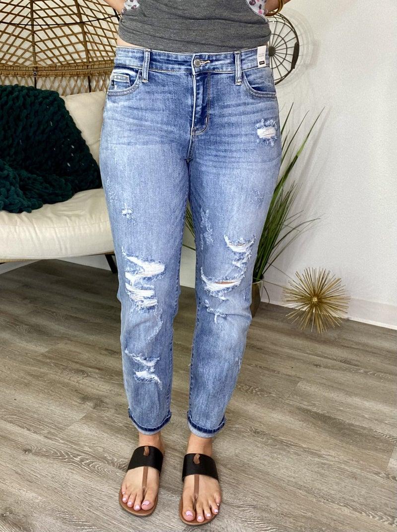 The Trey Boyfriend Jeans