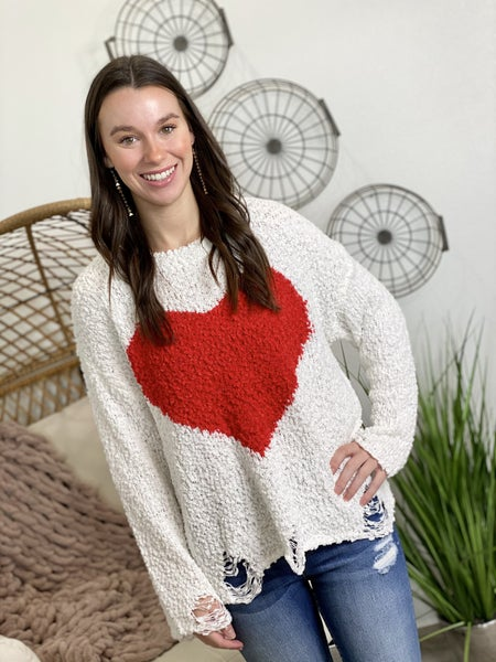 The One Heart Sweater