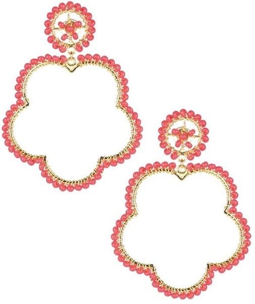The Bobbi Beaded Earrings - 4 Colors
