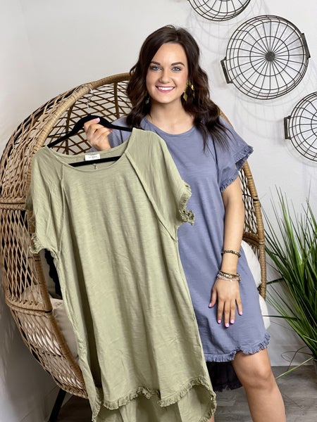 The Libby Linen Dress - 2 Colors