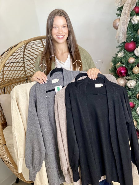The Elise Cardigan-5 Colors
