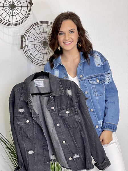The Birch Denim Jacket- 2 Colors- All Sizes