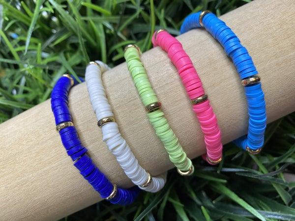 Neon Disc Bracelets-5 Colors