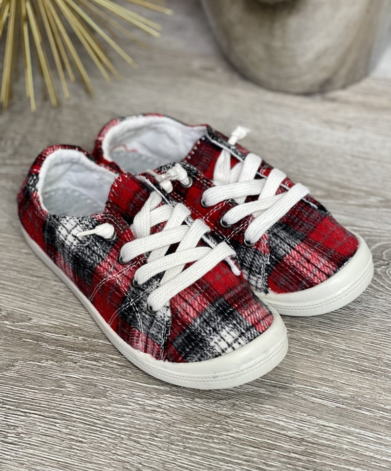 The Perry Plaid Sneaks
