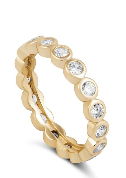 The Celeste Eternity Ring