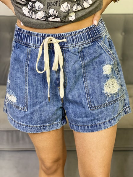 The Drawstring Birch Shorts in All Sizes