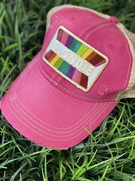 Pink Blondie Hat