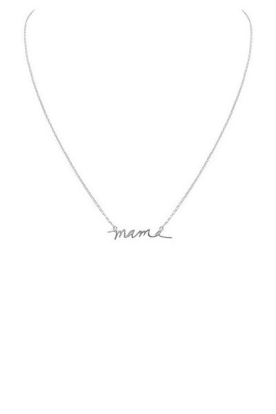 LD STEAL #70: The Mama Necklace- 2 Colors