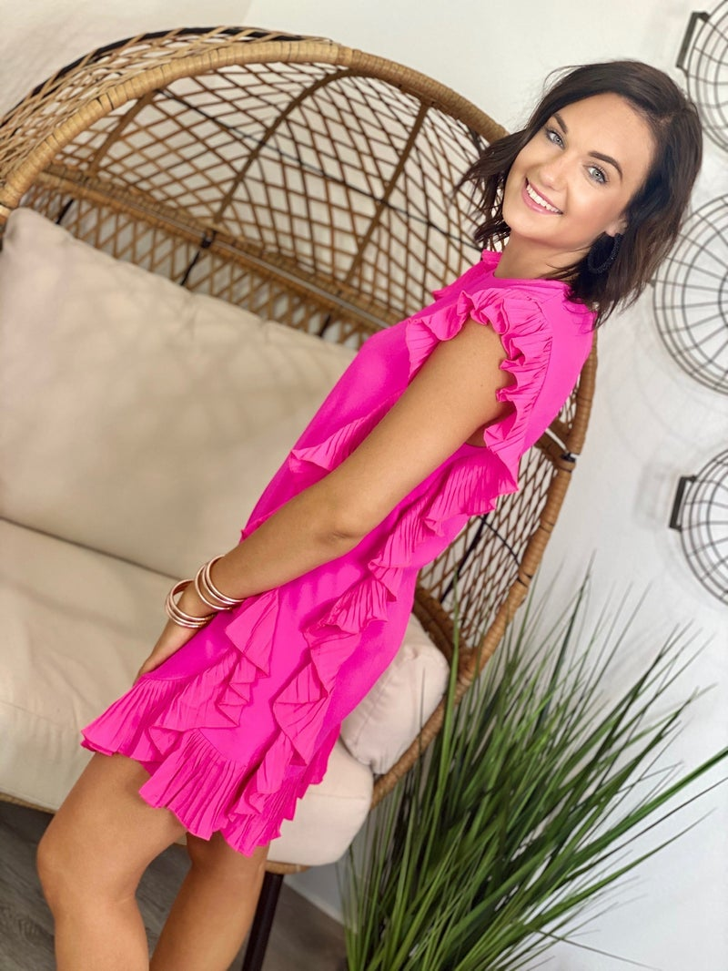 The Cocktail Dress in Pink