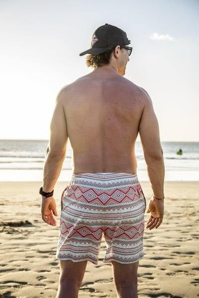 The Aztec Swim Trunks