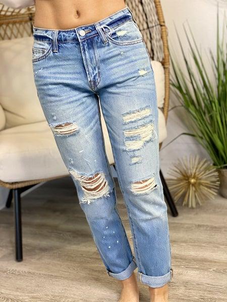 The Splatter Sue Jeans