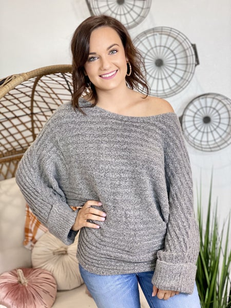 The S'Mores Sweater In Grey