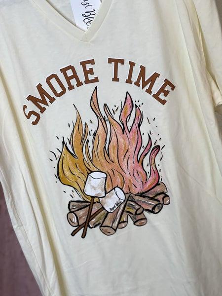 Smore Time V-Neck Tee