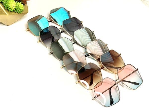 Surprise Steal - Classy Hex Sunnies - 6 Colors