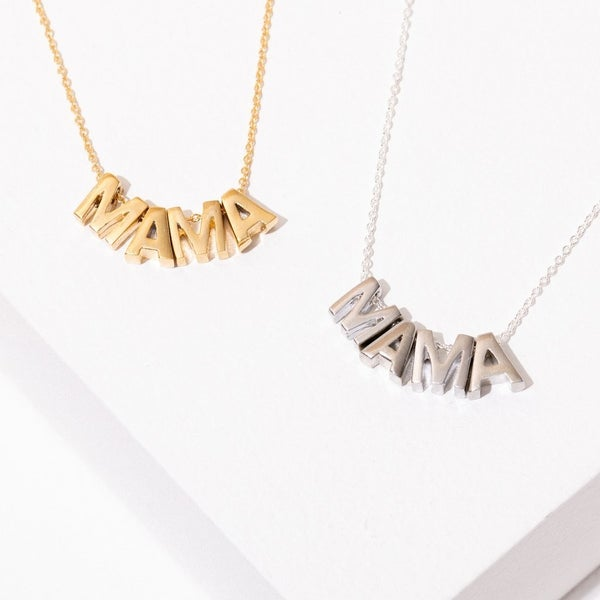 The Mama Block Necklace
