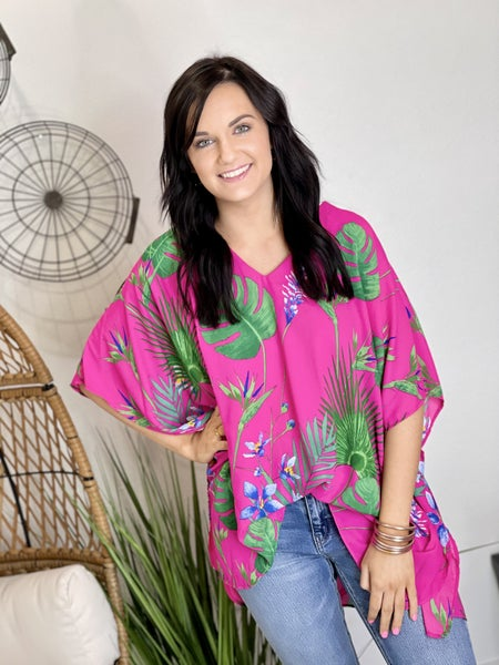 The Jolie Poncho Top