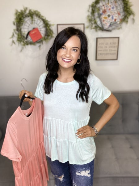 The Laurie Top in 2 Colors - All Sizes