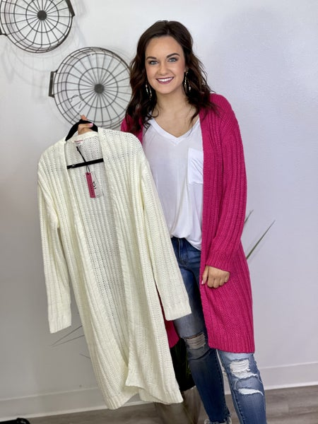 The All You Need Cardigan - 2 Colors