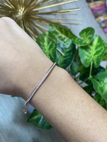 The Curved Bar Bracelet