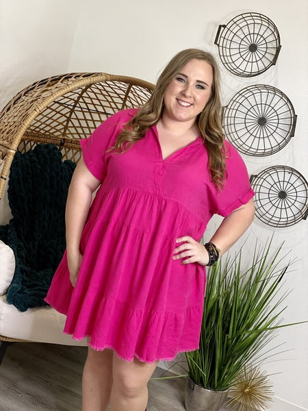 The Curvy Spring Fling Dress - 2 Colors