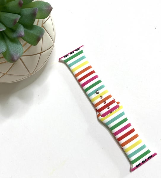 Summer Stripe Apple Watch Band