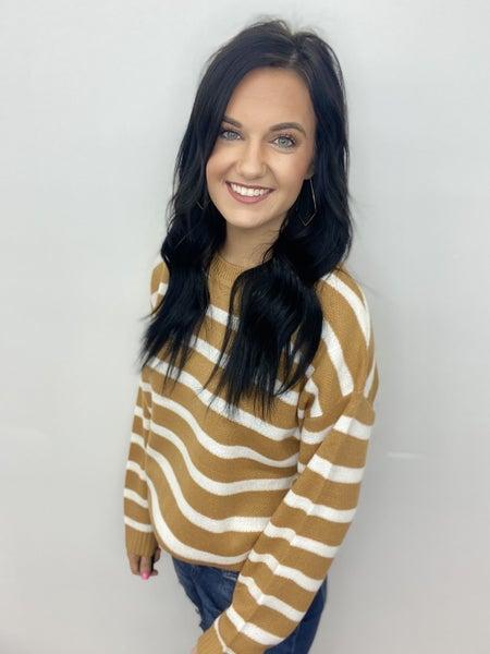 The Butterscotch Sweater