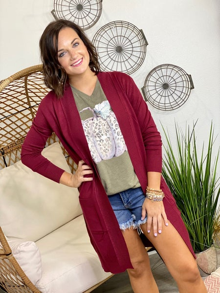 The Gamble Cardigan-All Sizes-21 Colors