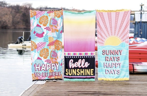 The Best Beach Towels -3 Styles