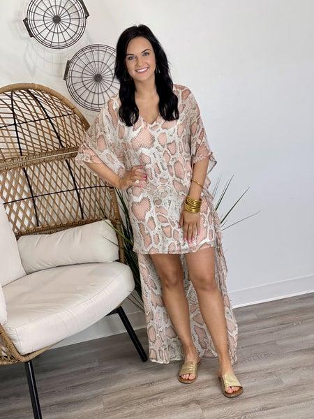 The Blush Slither Hi-Lo Dress