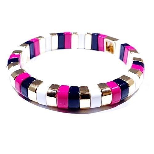 Tube Tiled Bracelets
