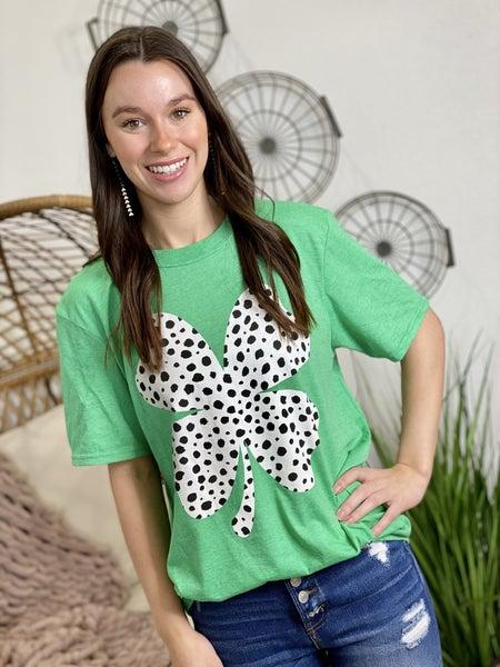 The Dalmatian Clover Tee