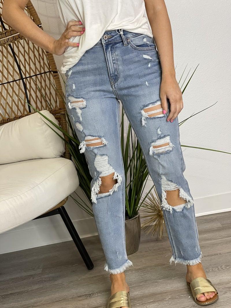 The Kiara Mom Jeans