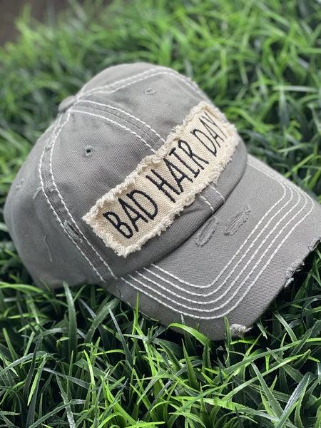 Bad Hair Day Grey Hat