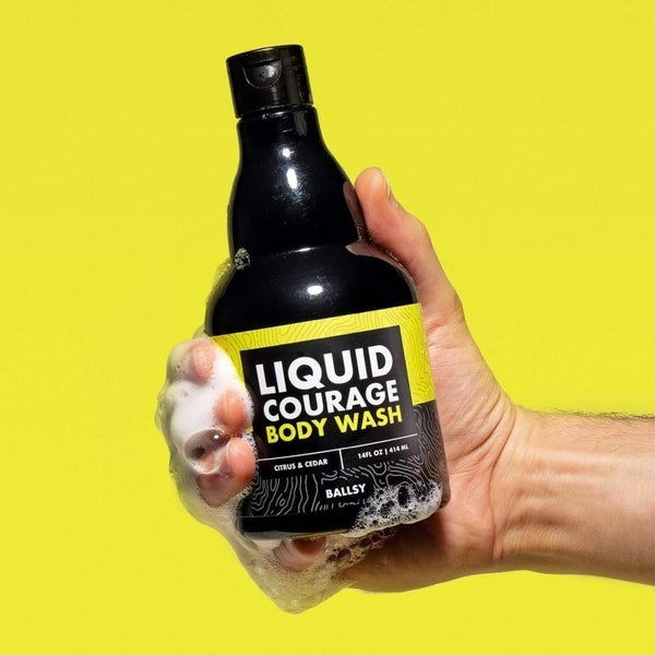 Liquid Courage Body Wash - 3 Scents