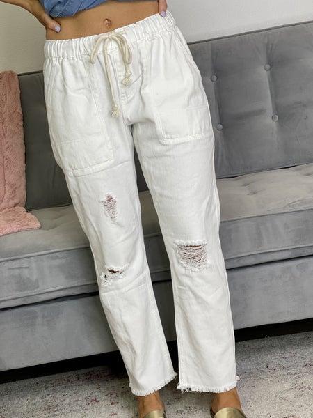 The Raw Twill Pants