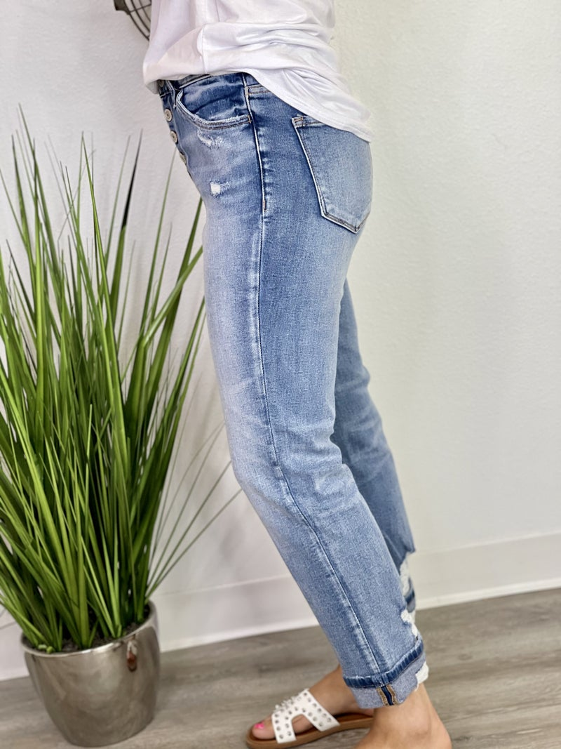 The Blaine Boyfriend Jeans