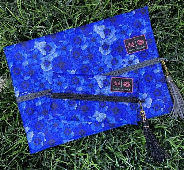 Blue Floral MJ Bag