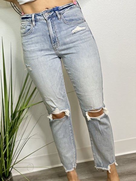 The Ally High Rise Skinnies