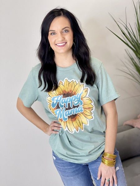 The Sunflower Mama Tee - All Sizes
