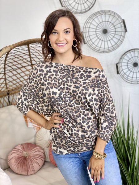 The Leo Off Shoulder Top