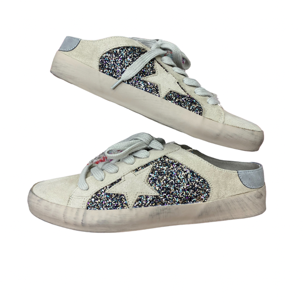 Perry Pewter Slip-on's