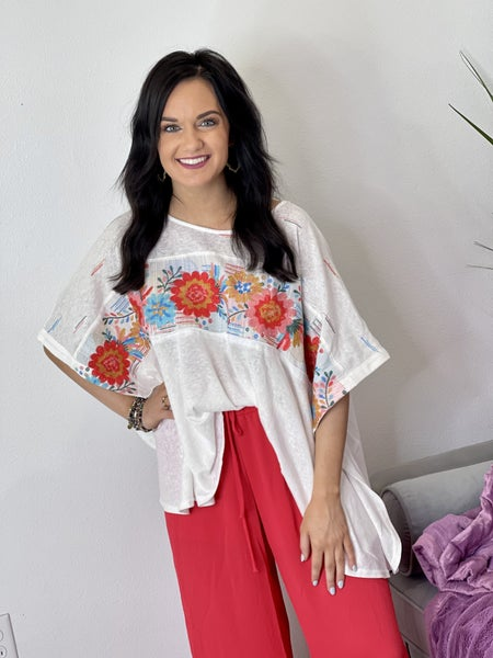 The Wiley Poncho Top in All Sizes
