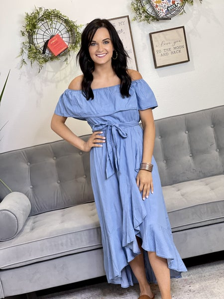 The Chambray Dress By FT