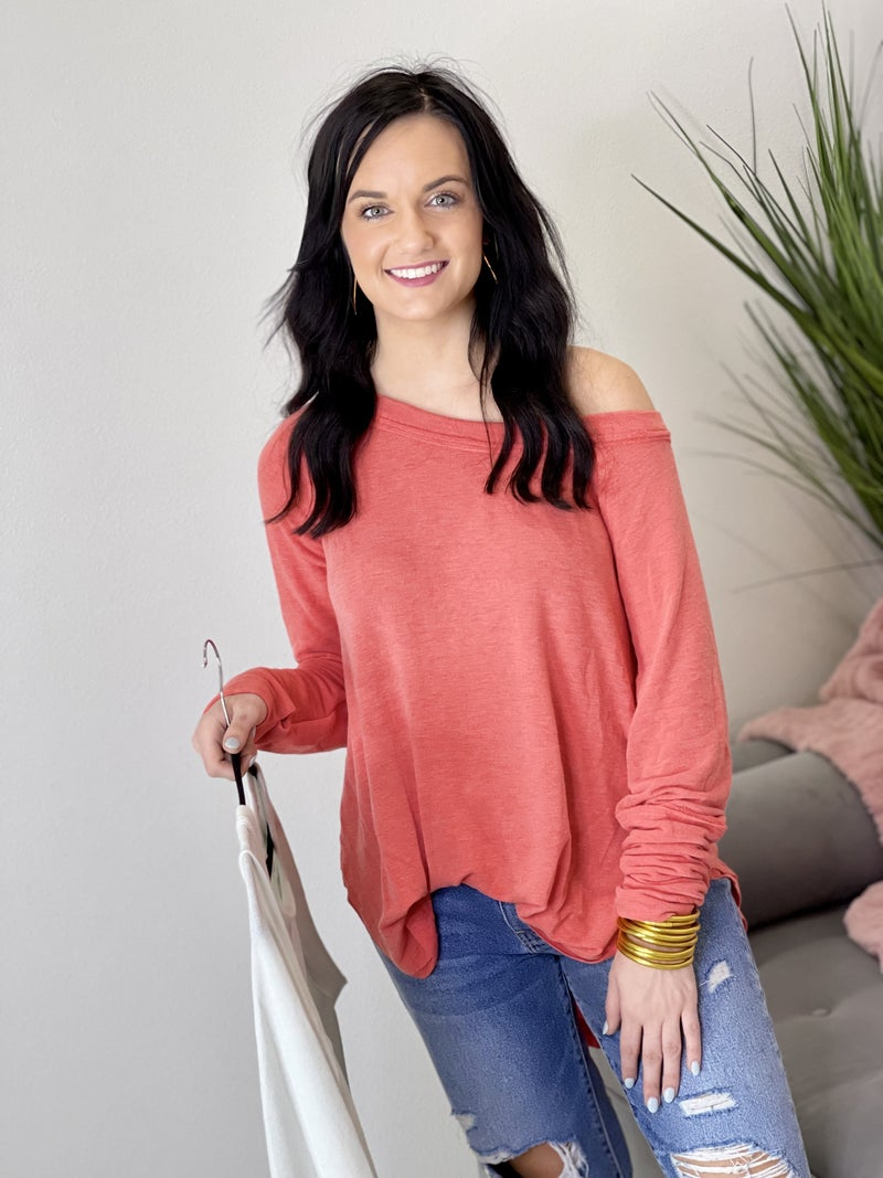 The Boater Top in 4 Colors