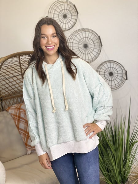The Cuddle Up Sherpa Hoodie