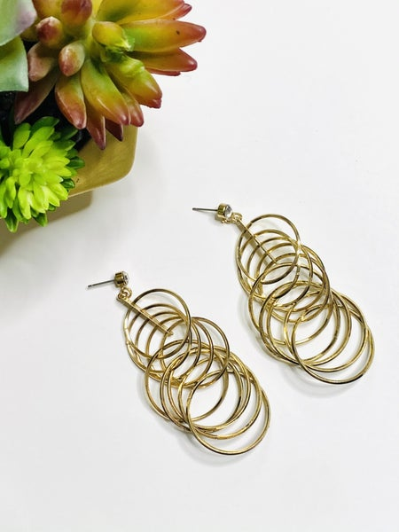 Surprise Steal-Bling Layers Earrings