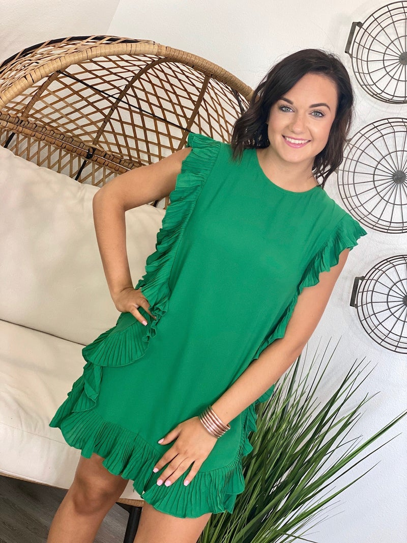 The Cocktail Dress in Green