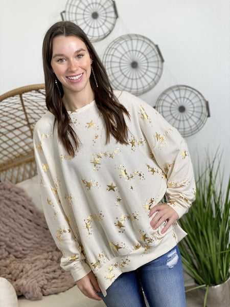 The Gold Star Pullover